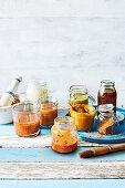 Homemade marinades