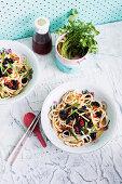 Eggplant Dan Dan Noodles