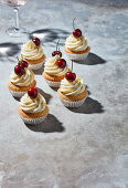 Cherry-on-top cupcakes