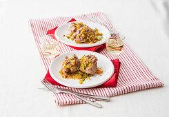 Turkey ossobuco with herbs and gremolata