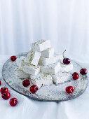 Pistaschio Marsmallows and Cherries