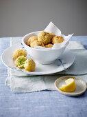 Polpette di baccalà (stockfish balls, Italy)