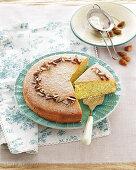 Sicilian almond cake