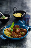 Lamb Bhuna (Lamb curry, India)