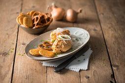 Rheingauer Spundekas (spiced cream cheese and quark mixture from Rhine-Hesse)
