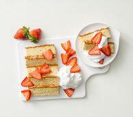 Kasutera (Japanese sponge cake)