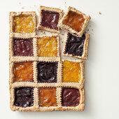 Four jam tart