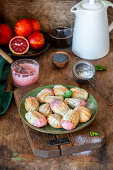 Madeleines with poppy seeds