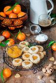 Tangerine jam cookies_1