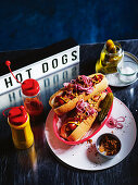 Danish-style hot dogs