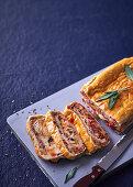 Lasagne bread (Scaccia, Sicily)