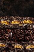 Marshmallow easter egg rocky road cake