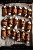 Ice cream cannoli