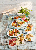 Dishes for picnic