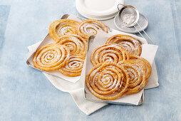 Frijole sarde (Sardinian Shrove pastries, Italy)