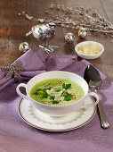 Savoy cabbaged soup