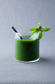 Pineapple and Thai basil juice