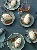 Vanilla mousse with Marsala truffle jus