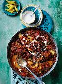 Eggplant karniyarik 'split stomach'