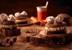 Spooky Halloween whoopie pies