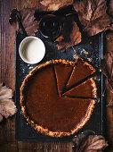 Smoked pumpkin pie