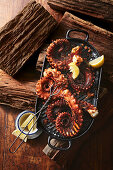 Grilled octopus and XO sauce (Island)