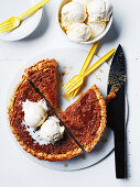 Maply syrup tart
