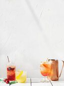Three spritz varieties