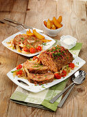 Canadian Bacon Bourbon Meatloaf