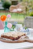 Brookies (brownies with a cookie crust)