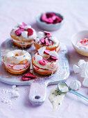 Pavlova-flavoured doughnuts