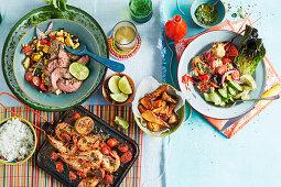 Brazilian BBQ dishes
