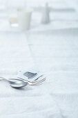 Cake cutlery - cake fork and coffee spoon
