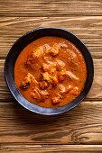 Hähnchencurry mit Tomatensauce (Indien)