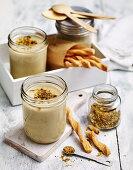 Cauliflower and almond soup
