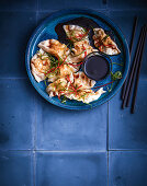 Cao tze (traditional Chinese dumplings)