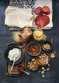 Oriental cuisine ingredients