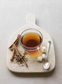 Chai tea with spices