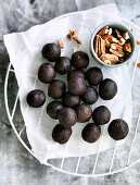 Choc nut brownie bliss balls