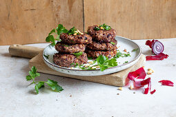 Kidney bean patties