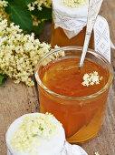 Elderflower jelly