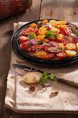 Oven roast cherry tomatoes (vegan)