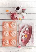 Rose tartlets