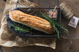 Rosemary baguette