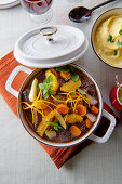Beef stew with oranges (France)