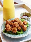 Thai rice balls