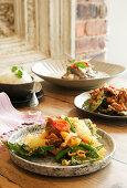 Crispy Thai vegetables