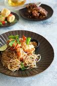 Pad Thai (rice noodle dish, Thailand)
