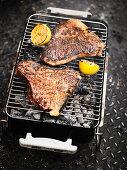 Spice Alley Grilled Opener Teriyaki T-Bone Steak