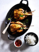 Baby Chicken with Coconut Cream and Lemongrass